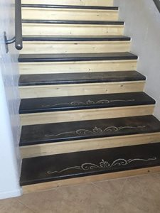 Wood Detailed Stairs