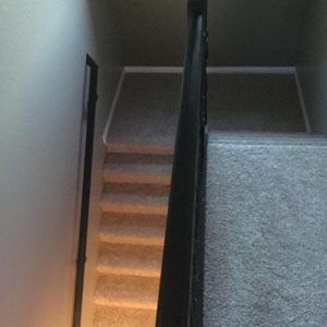 Carpeted Stairs with Shaw Carpet
